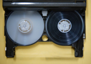8ミリビデオテープ修理後