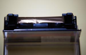 ミニDVテープ(しわ・伸び)修理後