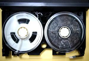VHSテープカビ取り前