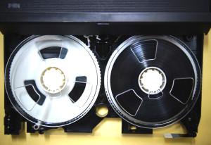 VHSテープカビ取り後