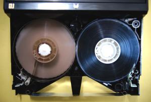 ベータビデオテープ修理後