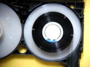 8ミリビデオテープ修復後