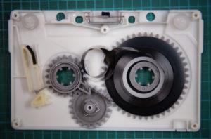 エンドレスカセットテープ修復前