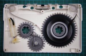 エンドレスカセットテープ修復後