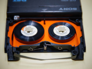 DATテープ修理後