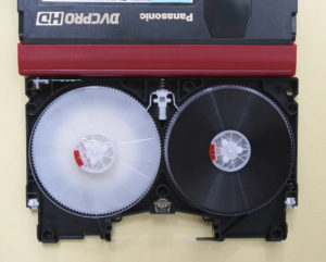 Panasonic DVCPRO HDテープ修理後